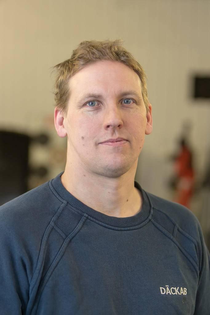 Johnny Pettersson Däckab Hede. Foto: Morgan Grip / Mediamakarna Grip