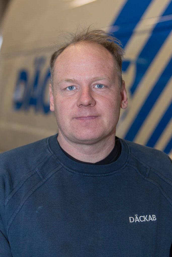 Mats Jönsson Däckab Hudiksvall. Foto: Morgan Grip / Mediamakarna Grip