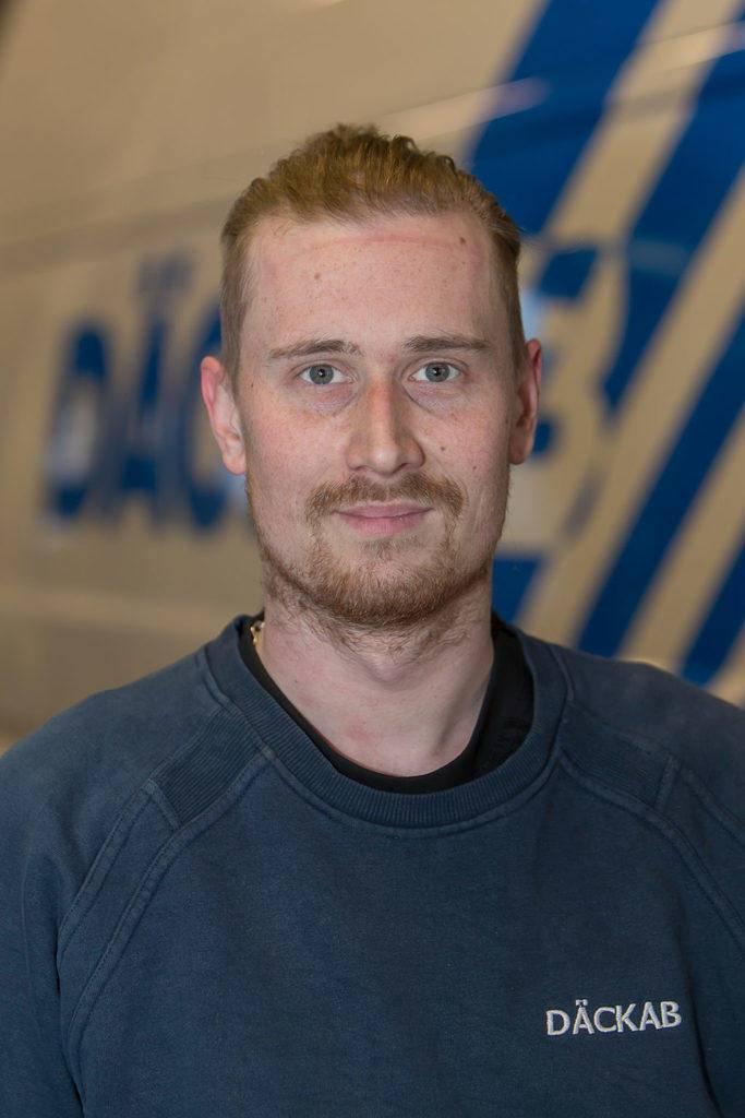 Johan Petersson Däckab Hudiksvall. Foto: Morgan Grip / Mediamakarna Grip