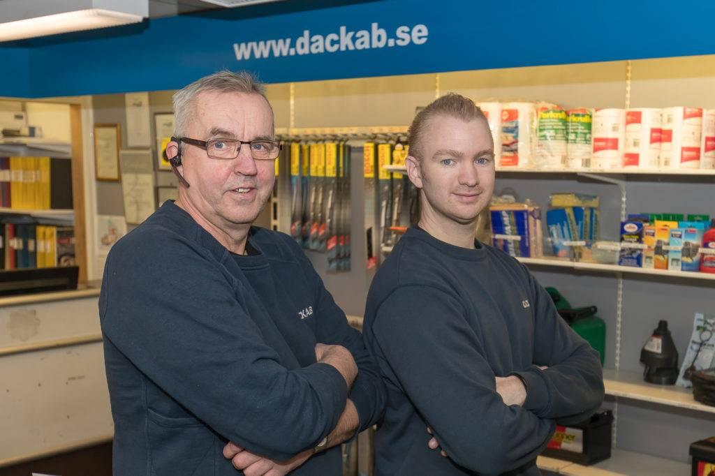 Däckab - Bilverkstad och däckverkstad i Hudiksvall. Foto: Morgan Grip / Mediamakarna Grip